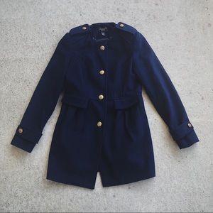 Victoria's Secret Navy Coat